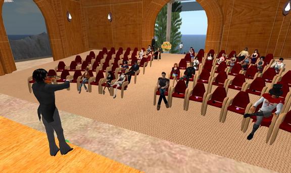 Audience at recital